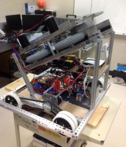 Furious Falcon's Team 4328 Robot!